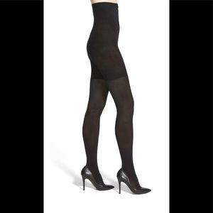 NIB SPANX High Waisted Luxe Leg Tight Black Size E